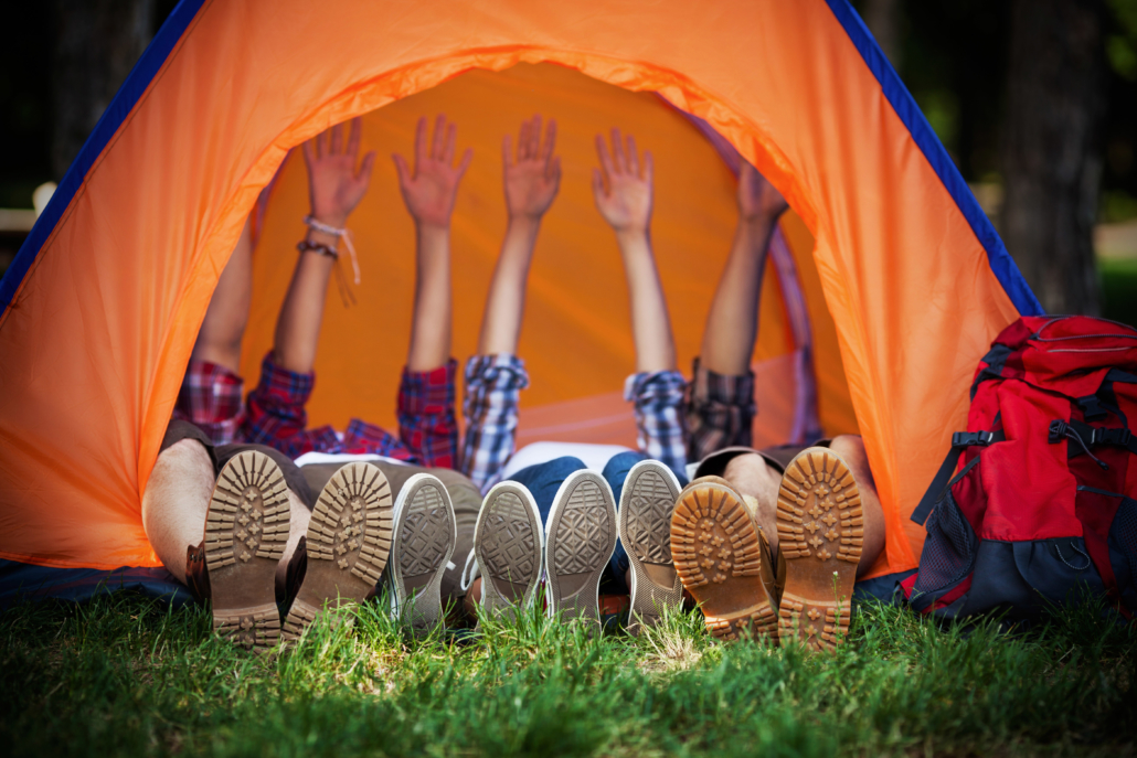 Emplacement sur l'île de Ré au camping les Salières